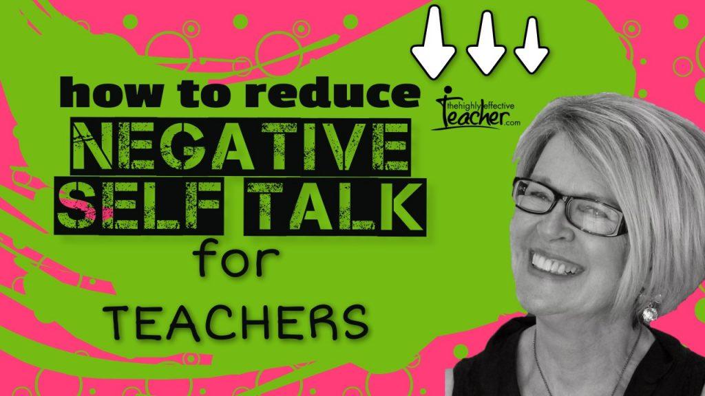 Reduce negative self talk imposter syndrome